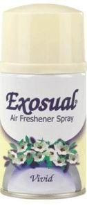EXOSUAL Spray Pearl (Дикая роза, жасмин, амбра, пион, ваниль исандаловое дерево 260мл (Мерида) (инд.301713)